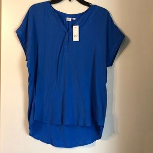 NWT Gap Cap sleeve Light weight Top